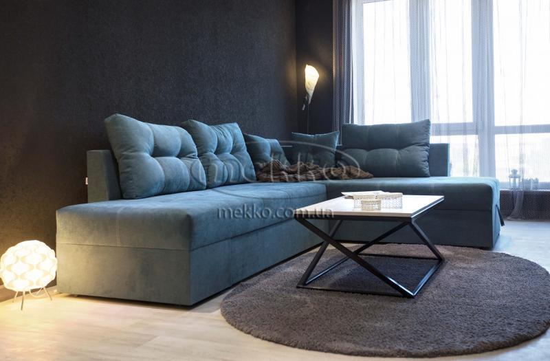 Кутовий диван з поворотним механізмом (Mercury) Меркурій ф-ка Мекко (Ортопедичний) - 3000*2150мм  Гайсин