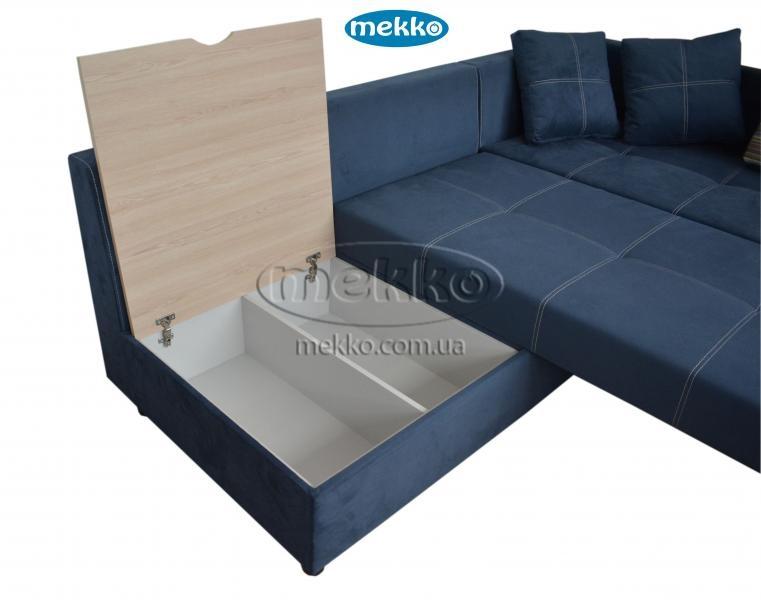 Кутовий диван з поворотним механізмом (Mercury) Меркурій ф-ка Мекко (Ортопедичний) - 3000*2150мм  Гайсин-18