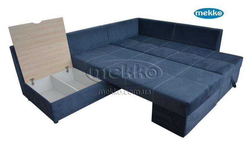 Кутовий диван з поворотним механізмом (Mercury) Меркурій ф-ка Мекко (Ортопедичний) - 3000*2150мм  Гайсин-19