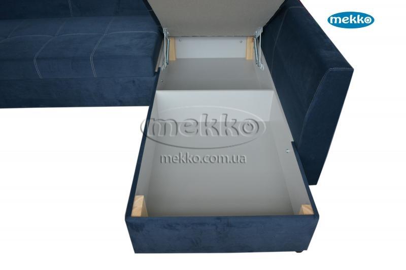Кутовий диван з поворотним механізмом (Mercury) Меркурій ф-ка Мекко (Ортопедичний) - 3000*2150мм  Гайсин-20