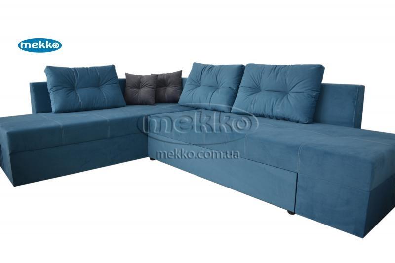 Кутовий диван з поворотним механізмом (Mercury) Меркурій ф-ка Мекко (Ортопедичний) - 3000*2150мм  Гайсин-11